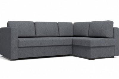 Угловой диван Джессика 2 (правый) серый