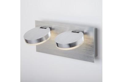 Светодиодный настенный светильник с поворотными плафонами