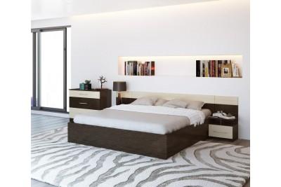 Спальня «Уют» венге/дуб