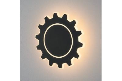 Gear L LED черный Настенный светодиодный светильник
