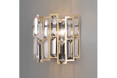 Настенный светильник с хрусталем
