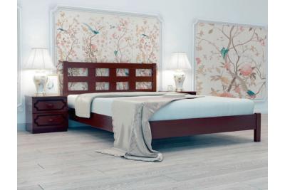 Кровать Вероника-4 орех 1600