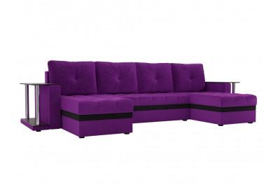 П-образный диван Атланта со столом