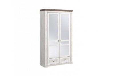 "Шкаф 2-х створчатый с зеркалом ""Ривьера"" (МебельМаркет) (440)"