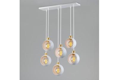 Подвесной  светильник с металлическими плафонами