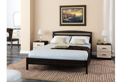 Кровать Камелия-1 дуб венге 1200