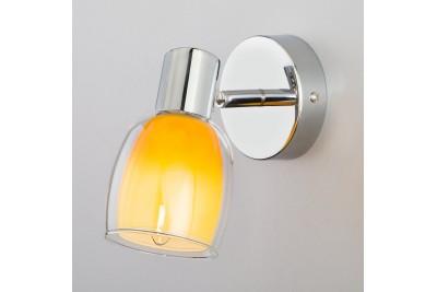 Настенный светильник с поворотным плафоном