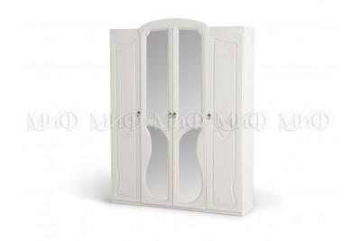 Шкаф Мария - белый глянец