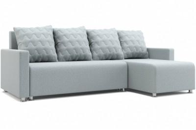 Угловой диван Челси 2 светло-серый