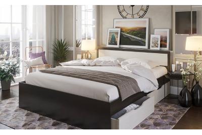Кровать с ящиками Гармония КР 607