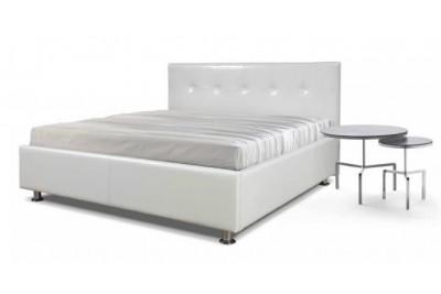 Кровать Диана 1600 белая с подъемным механизмом