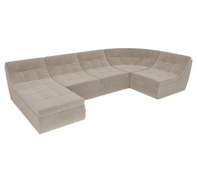 П-образный модульный диван Холидей
