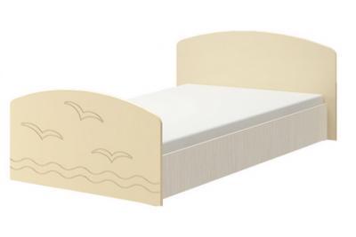 Кровать Юниор-2 - ваниль матовый