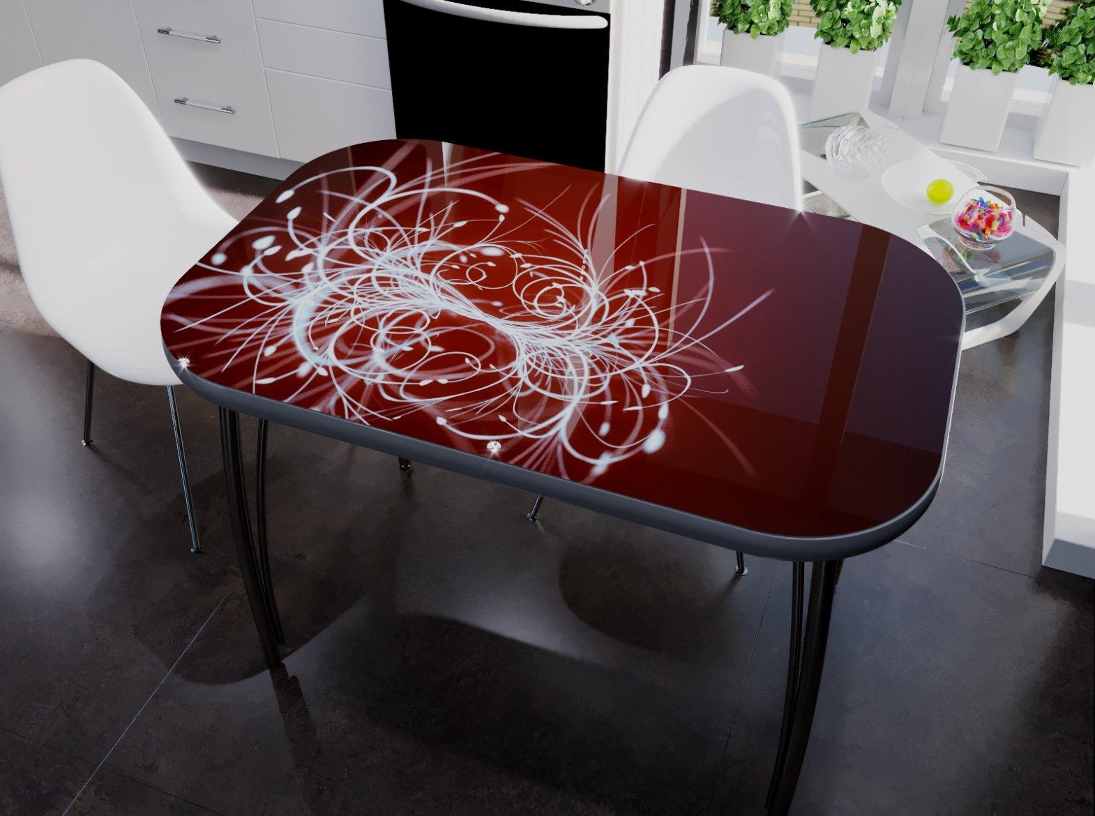 столы и стулья с фотопечатью всех